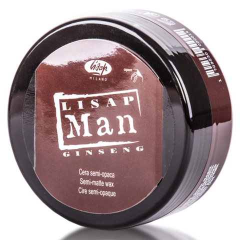 Матирующий воск для укладки волос для мужчин Lisap Man Semi-Matte Wax 100мл