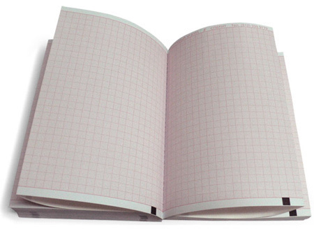 80х70х300, бумага ЭКГ для Esaote Biomedica, Schiller Cardiovit, реестр 4164/4