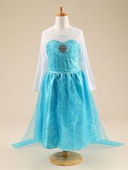 Платье Эльзы FROZEN для полненьких девочек