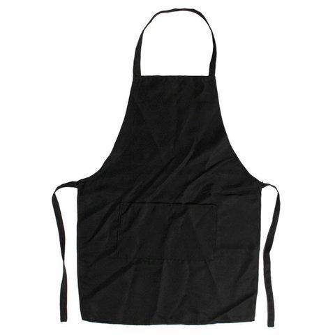 Фартук Ставвер черный для парикмахера удлиненный 94*92 см
