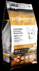 Корм ProBalance Immuno Adult Maxi для взрослых собак крупных пород