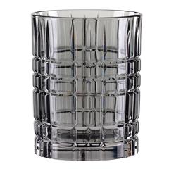 Серый хрустальный стакан для виски Highland, 345 мл, фото 2