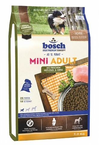 Bosch Mini Adult Poultry & Millet 3 кг