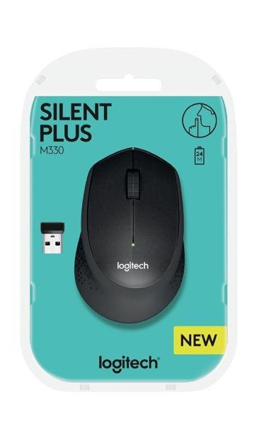 Logitech M330 Silent Plus Black