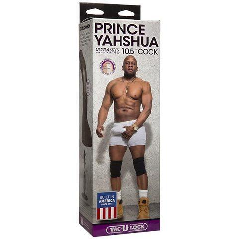 """Фаллоимитатор на присоске - насадка для страпона Prince Yahshua ULTRASKYN™ 10.5"""" (5 х 20,57 см)"""