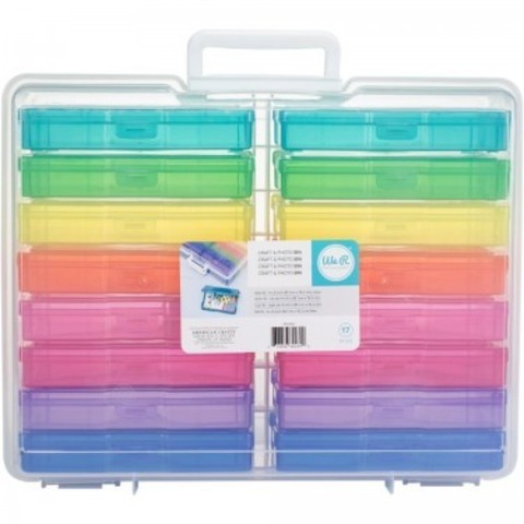 Органайзер Craft & Photo Translucent Plastic Storage от  We R Memory Keepers