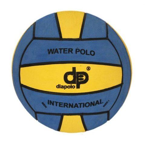 Тренировочный ватерпольный мяч DIAPOLO W5 men blue-yellow Размер 5 мужской арт.B-DP5-0701