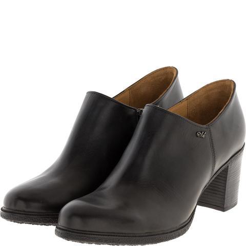637309 Ботинки женские кожа черные. КупиРазмер — обувь больших размеров марки Делфино