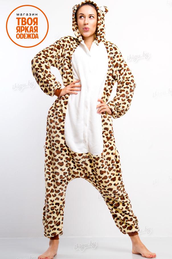 Пижамы кигуруми Леопард leo3.jpg