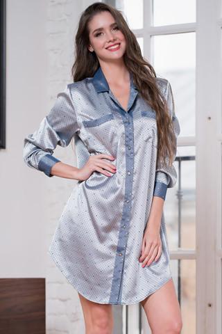 Рубашка Eliza 8177 Silver Mia-Amore