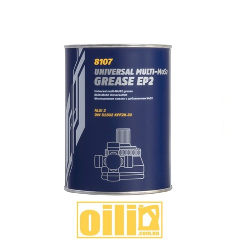 Mannol 8107 EP-2 Multi-MoS2 GREASE 800г