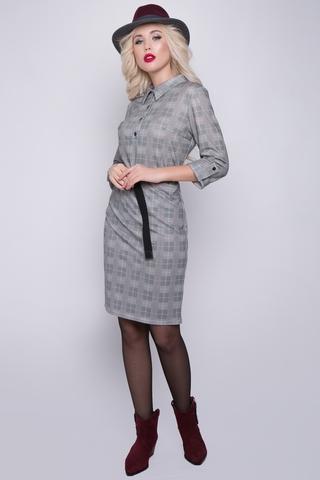 """<p>Еще одна """"крутая"""" новинка! Это платье подойдет для любого повода! Можно, практично, удобно. (Ремень в стоимость не входит, можно приобрести в разделе """"аксессуары"""") (Длины: 46-48=96см; 50-52=97см)&nbsp;</p>"""