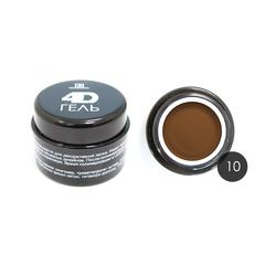 TNL, 4D Гель для дизайна ногтей № 10, коричневый, 8 мл