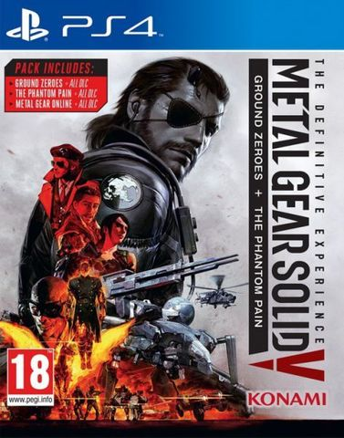 PS4 Metal Gear Solid V: Definitive Experience (русские субтитры)
