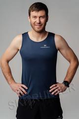 Майка беговая Nordski Run Blueberry мужская