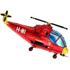 F Мини-фигура Вертолет (красный) 14