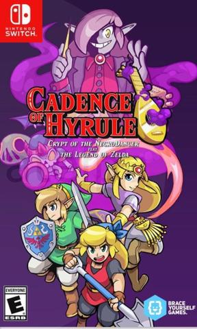 NS: Cadence of Hyrule: Crypt of the NecroDancer (русская версия)