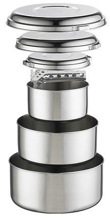 Набор посуды Alpine 4 pot set