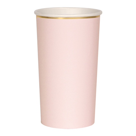 Стаканы светло-розовые