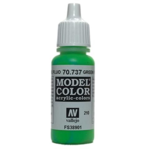 Model Color Green Fluo 17 ml.