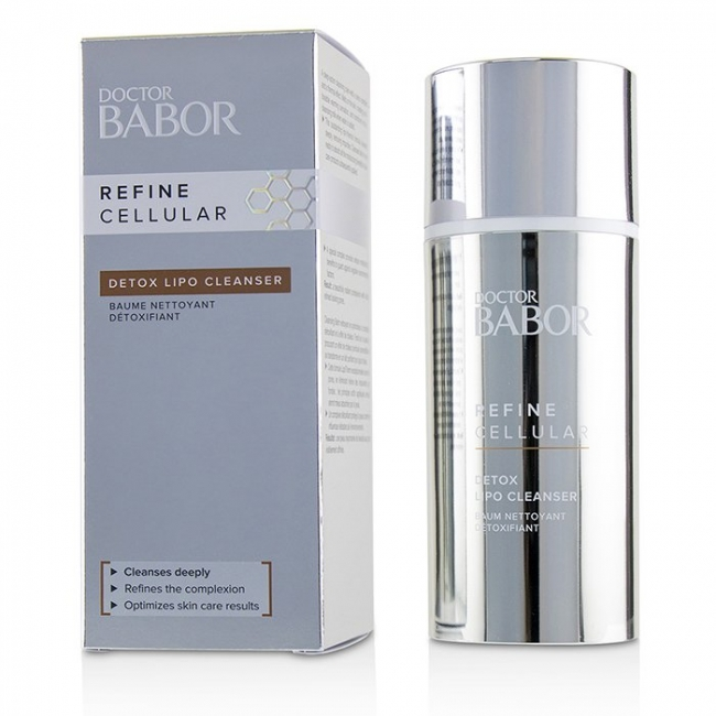 Средство для очищения Detox Lipo Cleanser Refine Cellular Doctor Babor 100ml