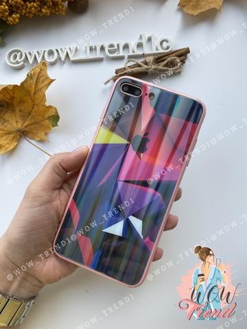 Чехол iPhone 11 Pro Max Polaris smoke Case Logo /pink/