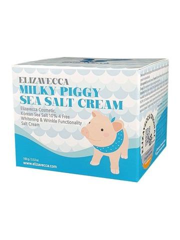 Увлажняющий крем для лица Elizavecca Milky Piggy Sea Salt Cream