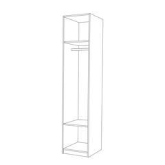 Шкаф - колонка для одежды