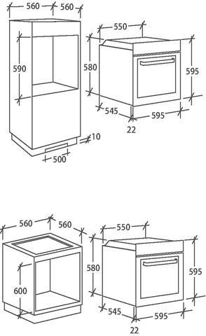 Духовой шкаф Candy FCC614BA/E