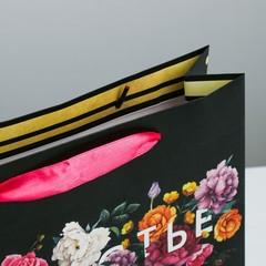 Пакет ламинированный горизонтальный «Счастье в мелочах», ML 27 × 23 × 8 см