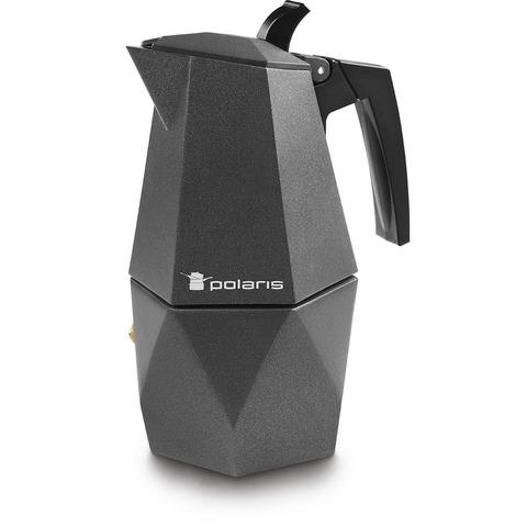 Гейзерная кофеварка Polaris Kontur-4C