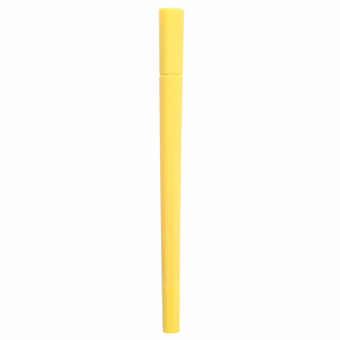 Маркер Muji Hexagonal Water-Based Twin Pen (желтый)