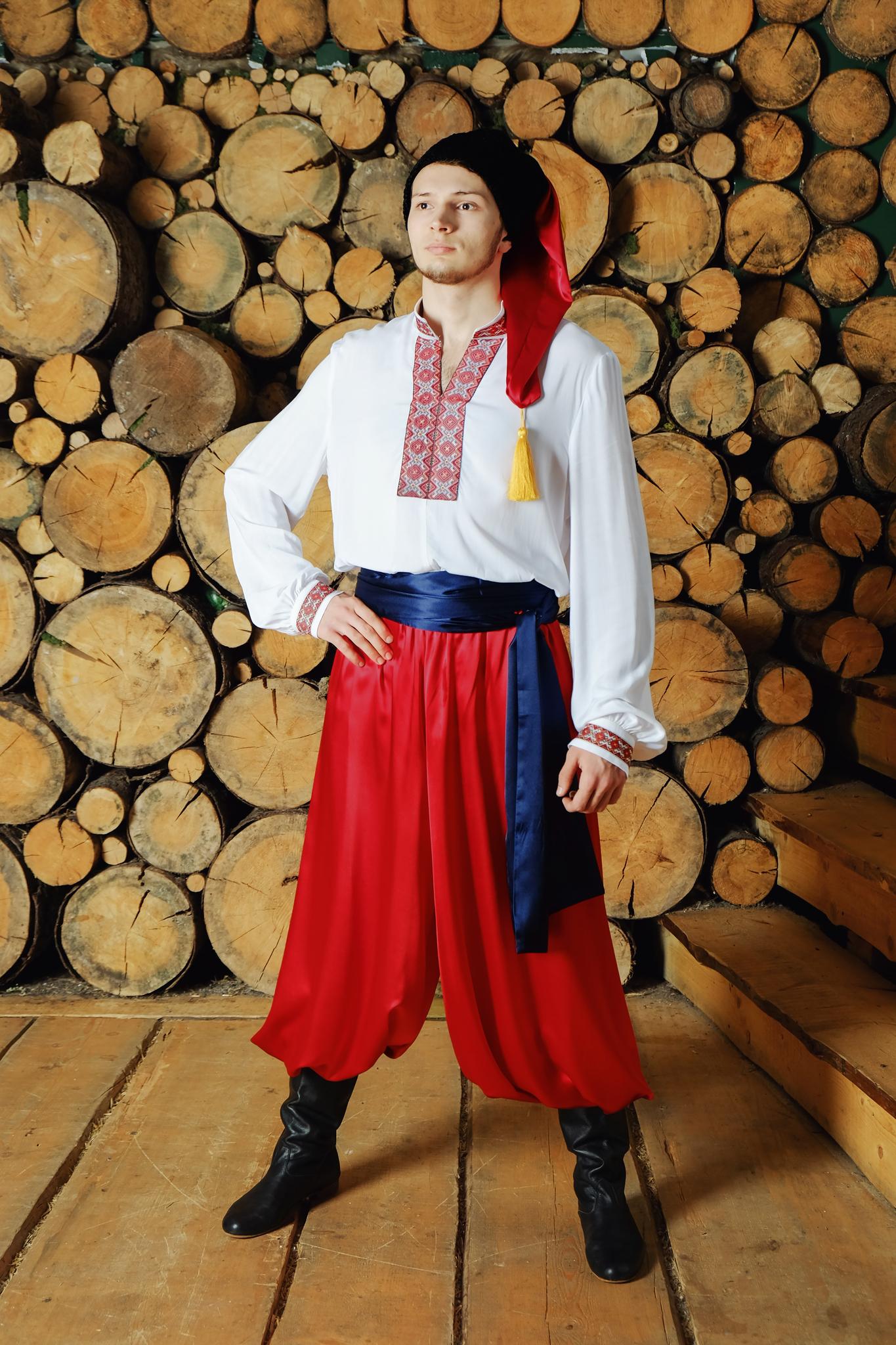 Костюм украинский народный Добрый молодец