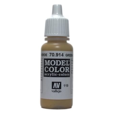 Model Color Green Ochre 17 ml.