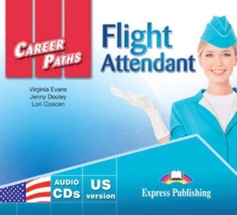 Flight Attendant (ESP) Audio CDs (set of 2) US VERSION. Аудио CD к учебнику