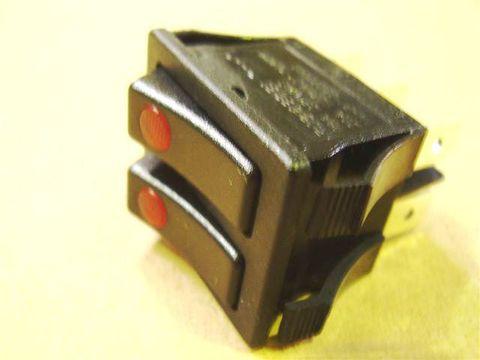 Выключатель 2-клавишный с подсветкой Термекс JET (66450) НЕ ПОСТАВЛЯЕТСЯ