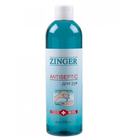 Антисептик для рук  500 мл, Zinger