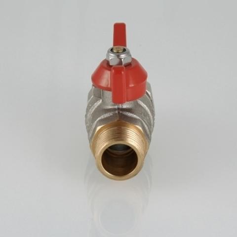 Кран шаровой VALTEC BASE с полусгоном и наружной резьбой