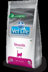 Ветеринарный корм для кошек, FARMINA Vet Life STRUVITE, при струвитах