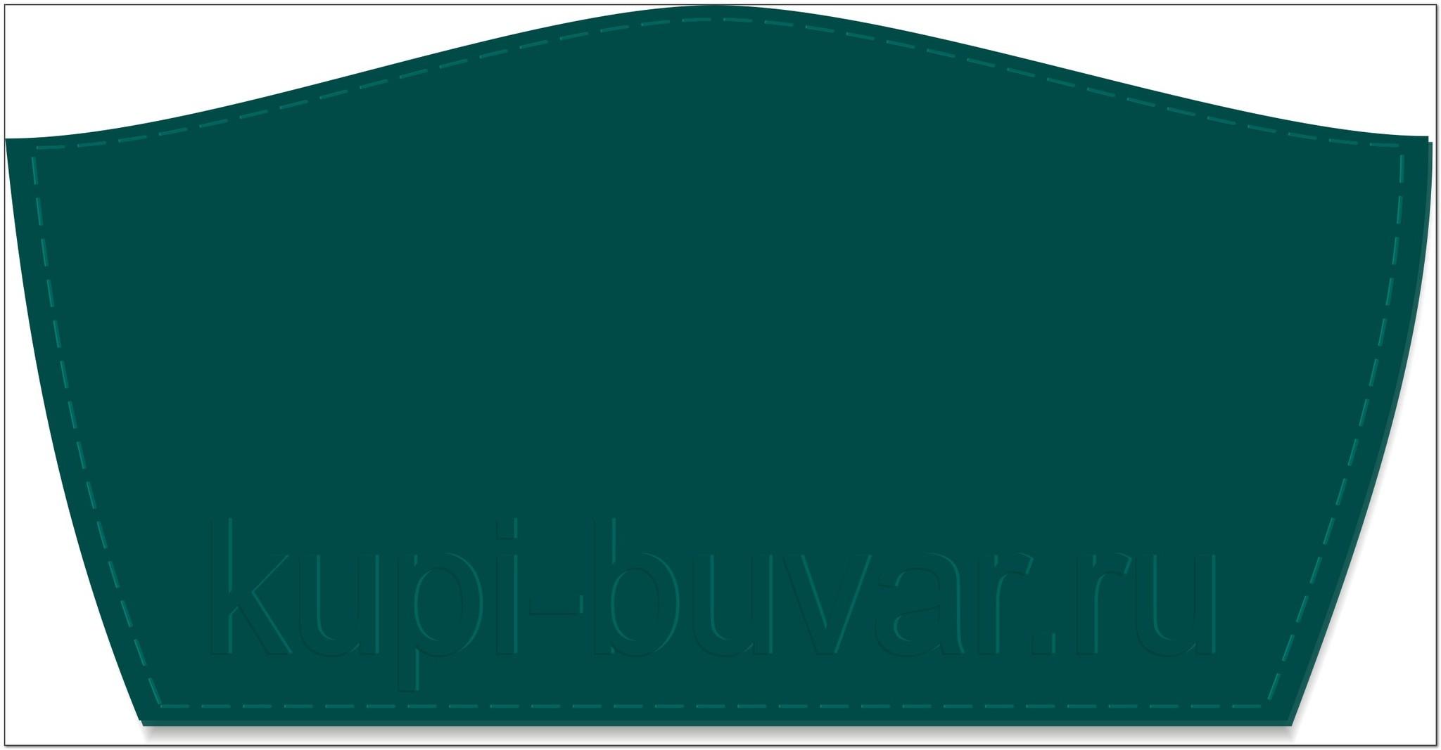 кожаный бювар - подложка на стол Сити-16