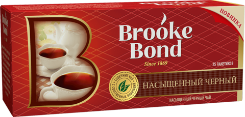 "Чай черный ""Brooke Bond"" 25*1.8г"