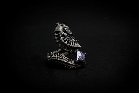 Кольцо Барон Рифа (черный)