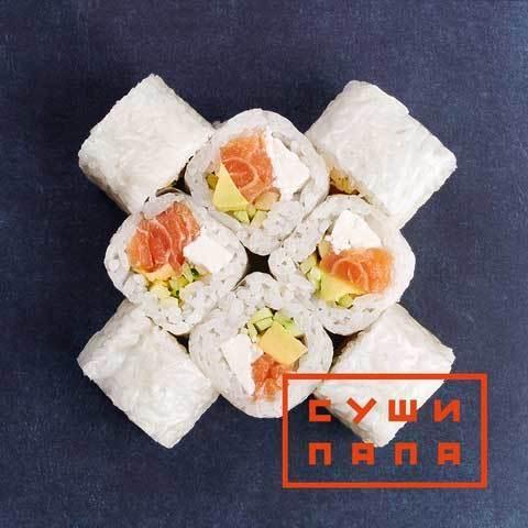 Рол камі з лососем