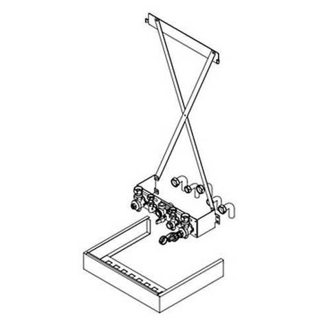 Монтажное приспособление для одноконтурного котла Viessmann до 35 кВт
