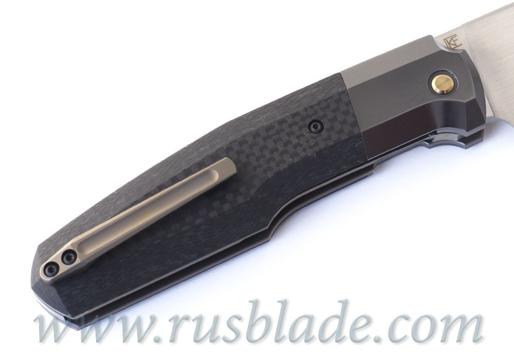 CKF/Philippe Jourget collab FIF23 knife (M390, Ti, Zirc, CF)