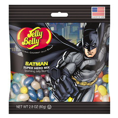 Конфеты Jelly belly Batman -Бэтмен супергеройская коллекция 60г.