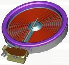 Конфорка hi-light Electrolux, Zanussi 1200 W (сенсорное управление) 3890800216