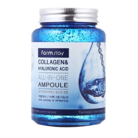 Сыворотка ампульная Farmstay All-In-One Collagen & Hyaluronic Acid Ampoule