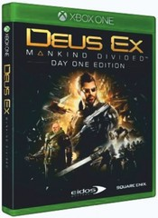 Xbox One Deus Ex: Mankind Divided. Day One Edition (русская версия)