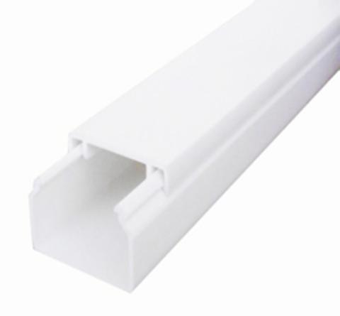 ECO 16х16 Миниканал 16х16 мм. 1шт=1м. Цвет Белый. Ecoplast (ЭКОПЛАСТ). 77202